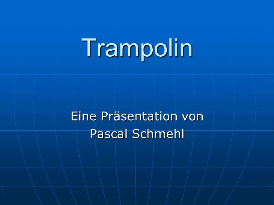 Eine Präsentation von Pascal Schmehl