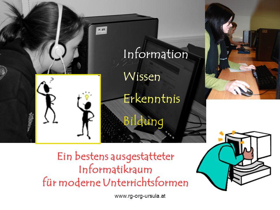 Information Wissen Erkenntnis Bildung
