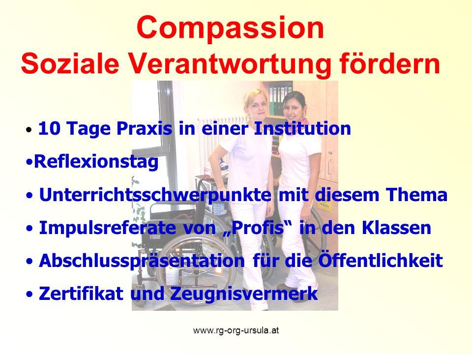 Compassion Soziale Verantwortung fördern