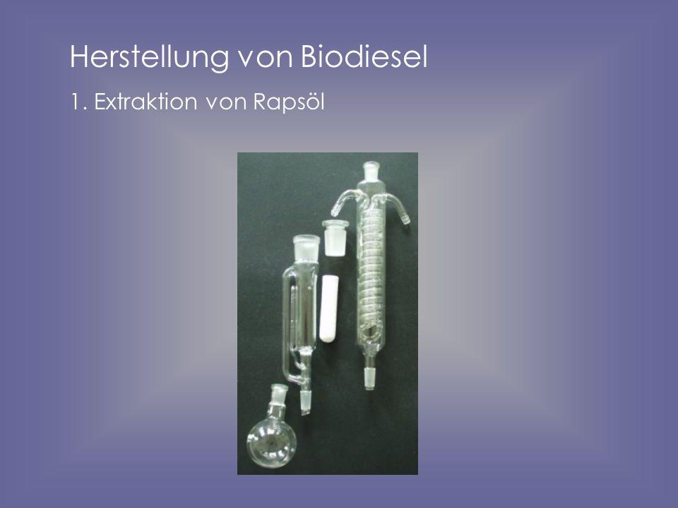Herstellung von Biodiesel