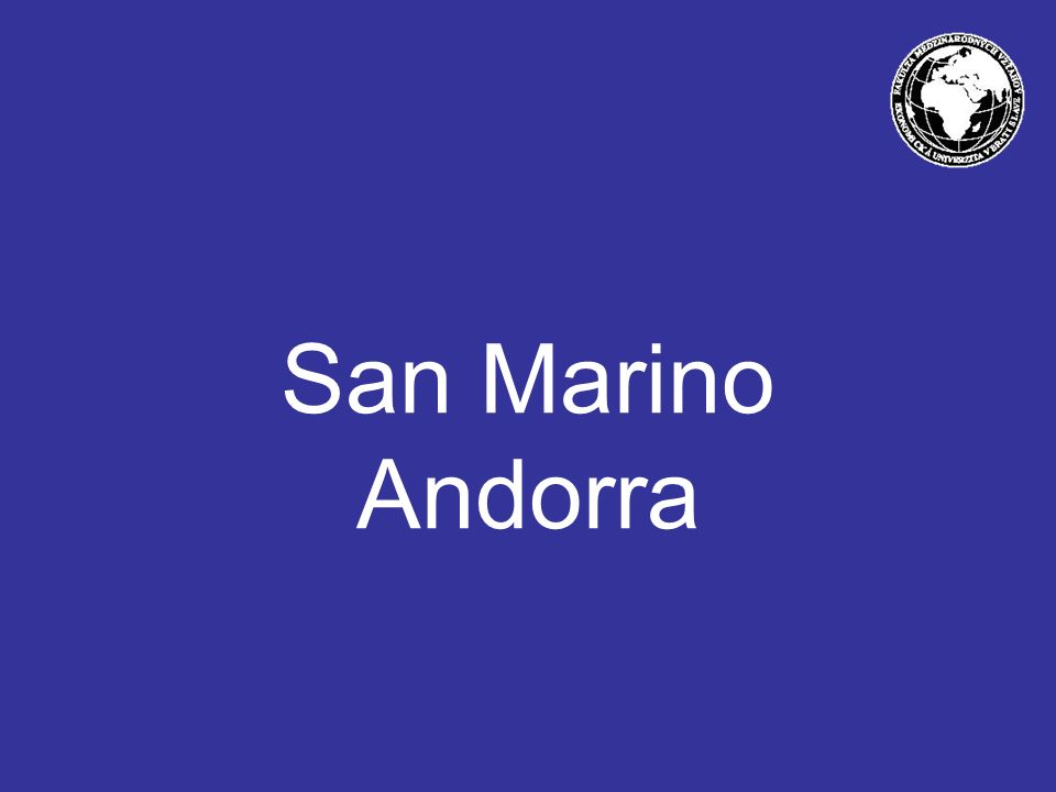 San Marino Andorra