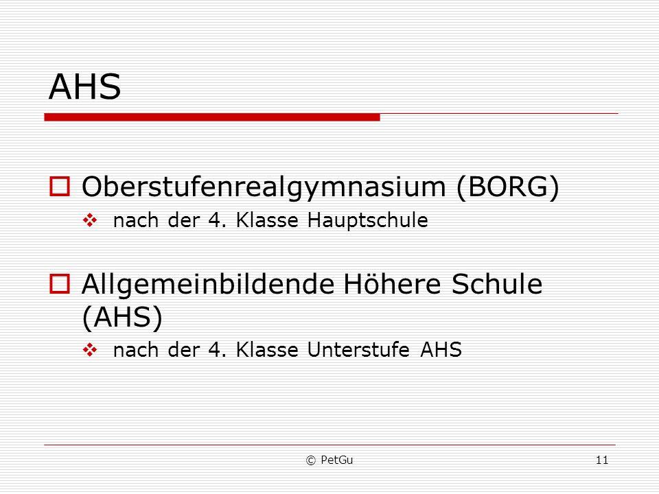 AHS Oberstufenrealgymnasium (BORG)