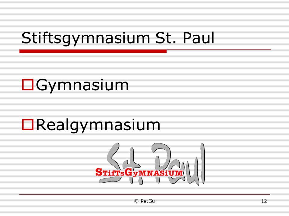 Stiftsgymnasium St. Paul