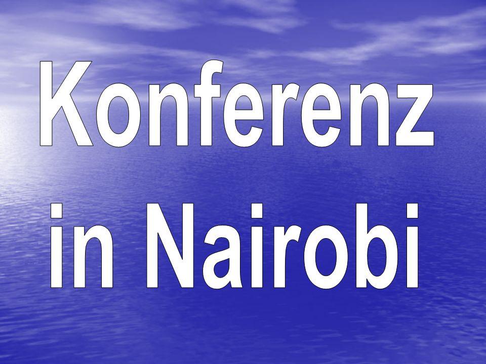 Konferenz in Nairobi