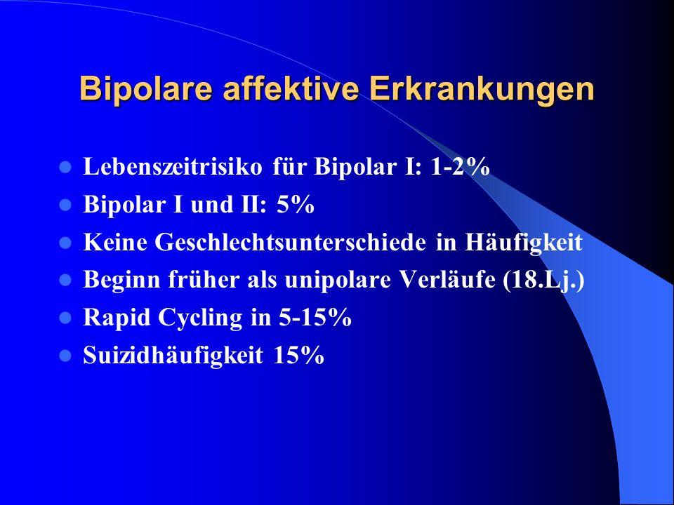 Bipolare affektive Erkrankungen