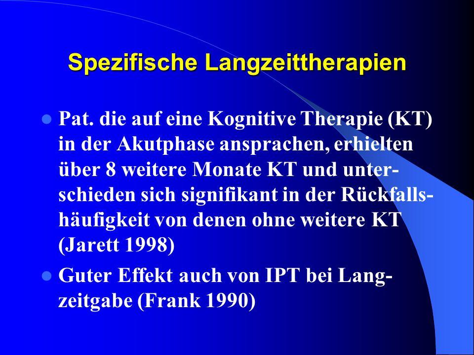 Spezifische Langzeittherapien