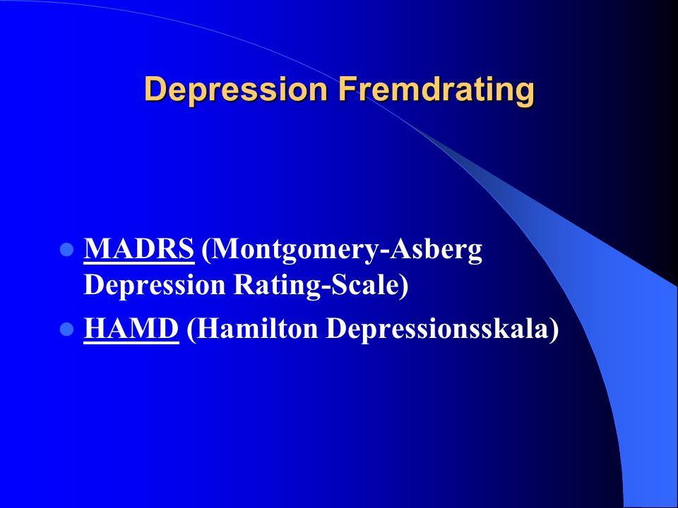 Depression Fremdrating
