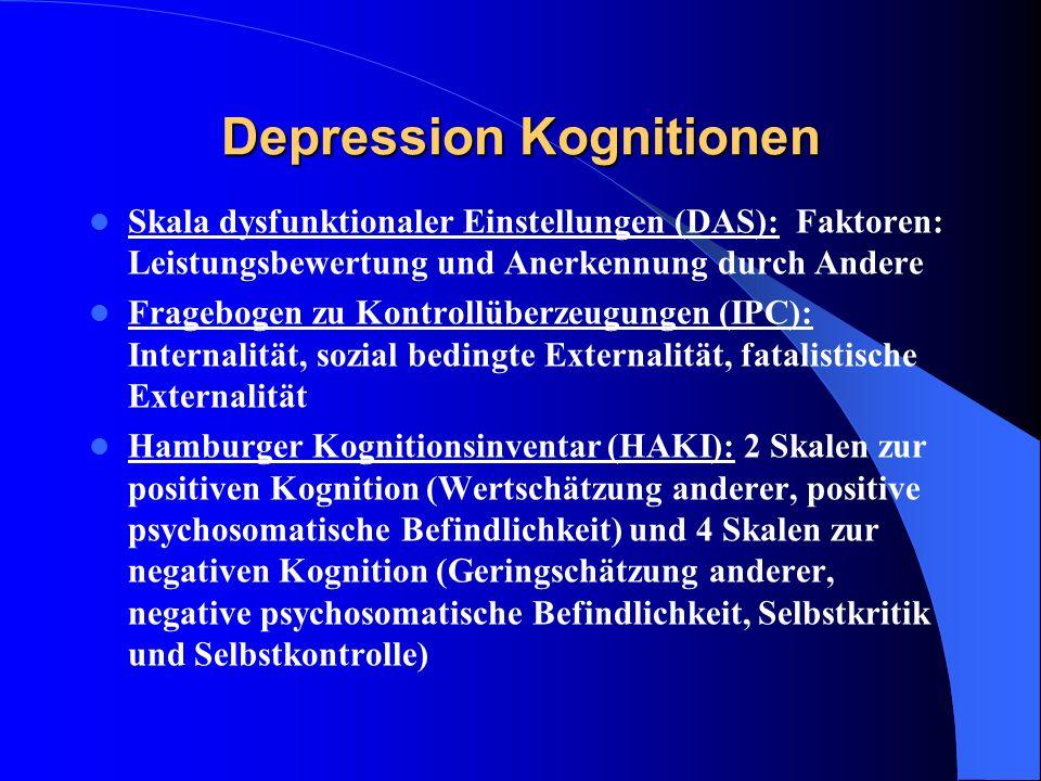 Depression Kognitionen