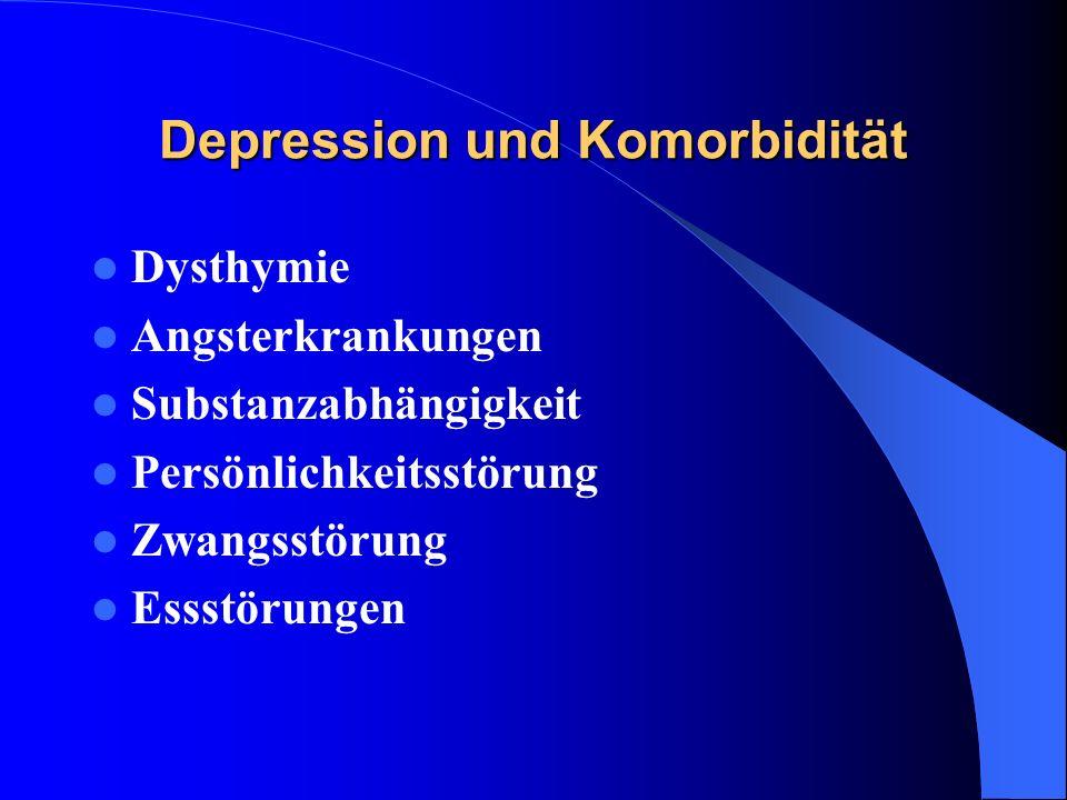 Depression und Komorbidität