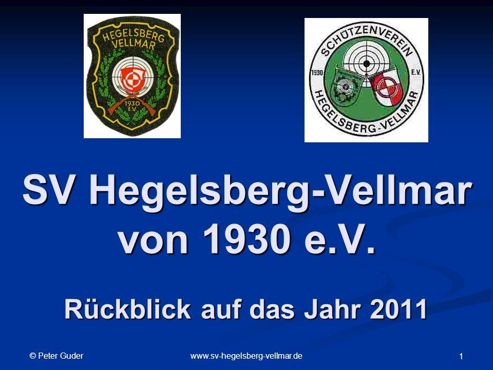 SV Hegelsberg-Vellmar von 1930 e.V. Rückblick auf das Jahr 2011