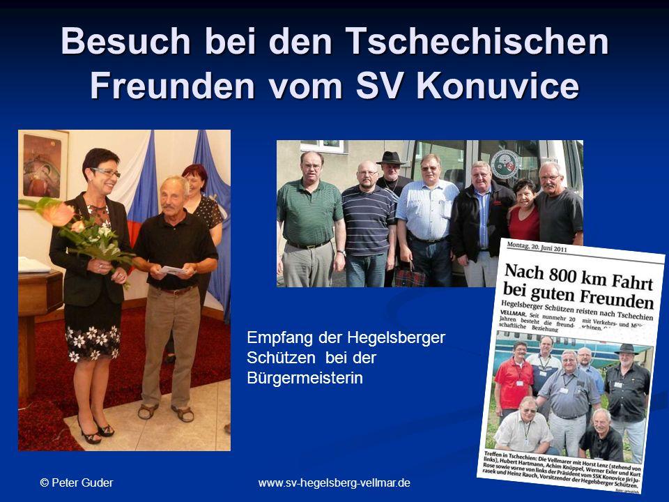 Besuch bei den Tschechischen Freunden vom SV Konuvice