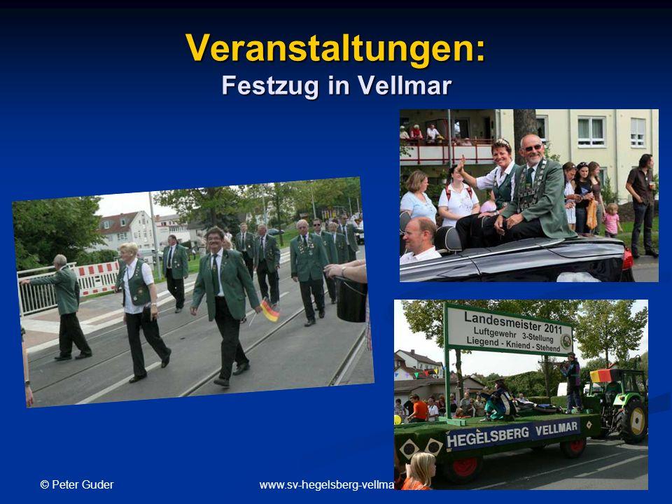 Veranstaltungen: Festzug in Vellmar
