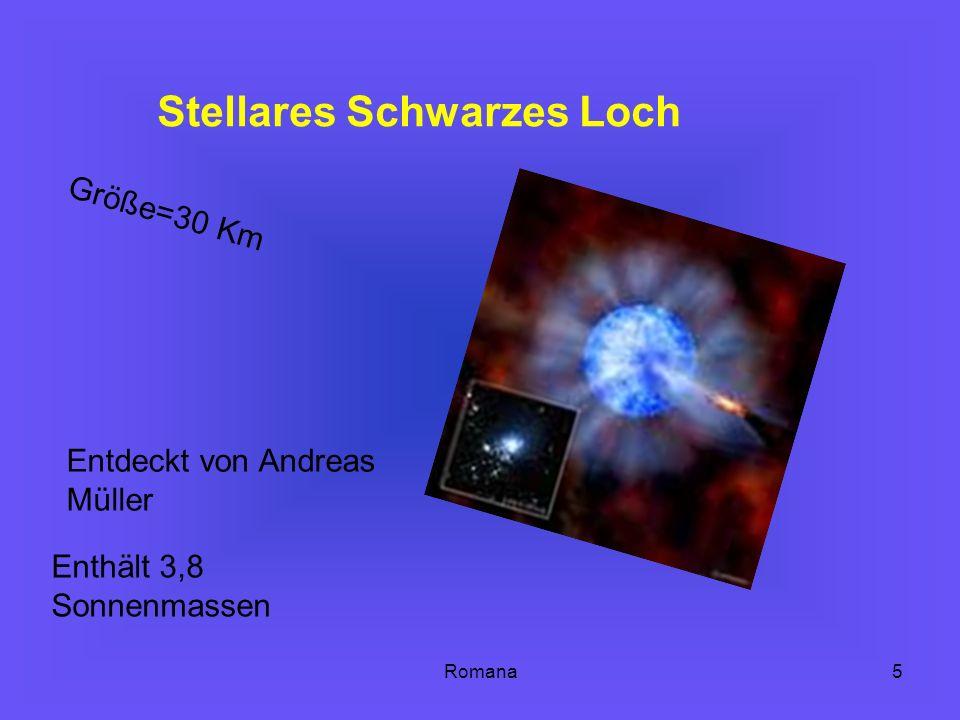 Stellares Schwarzes Loch