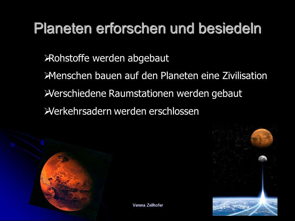 Planeten erforschen und besiedeln
