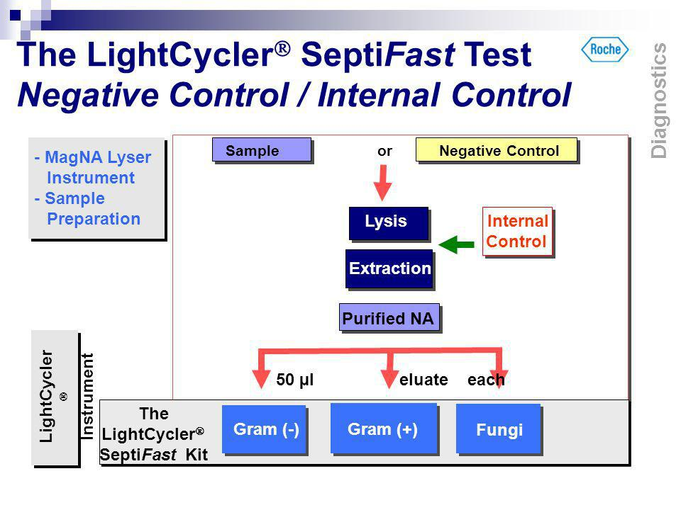 The LightCycler SeptiFast Test Negative Control / Internal Control