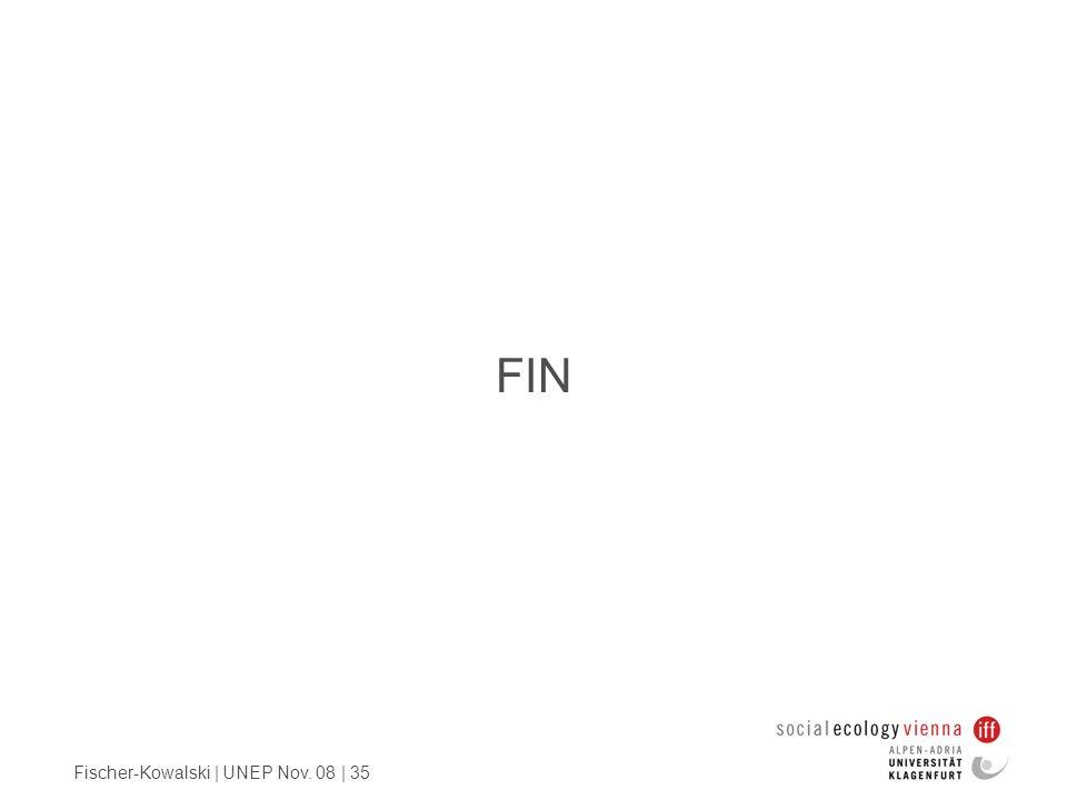FIN Fischer-Kowalski | UNEP Nov. 08 | 35