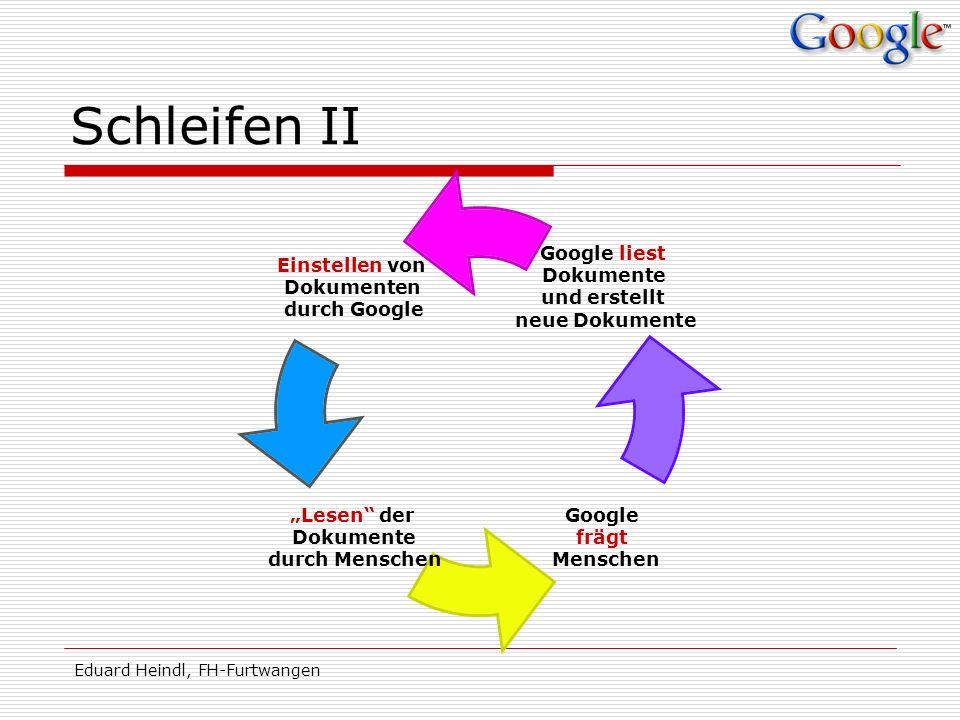 Schleifen II Eduard Heindl, FH-Furtwangen