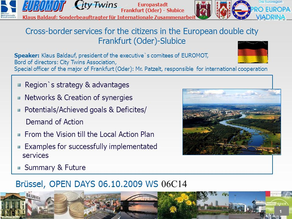 Cross-border services for the citizens in the European double city Frankfurt (Oder)-Slubice