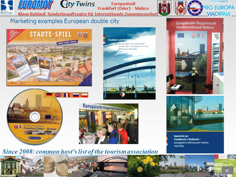 Marketing examples European double city