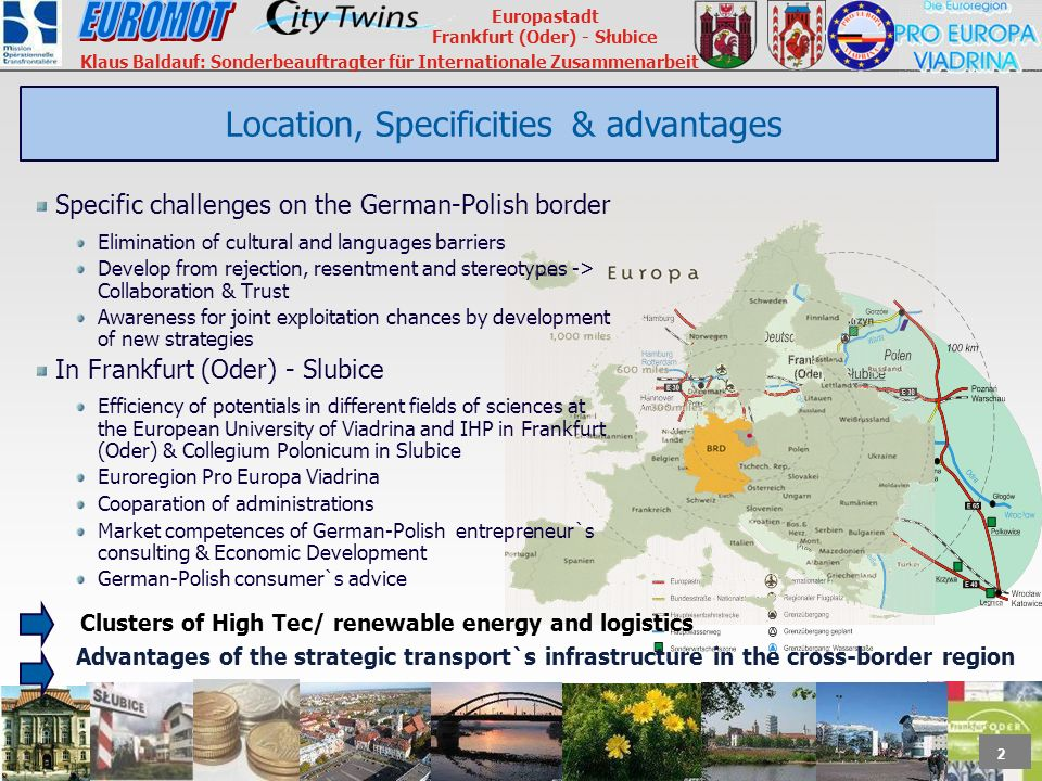 Location, Specificities & advantages