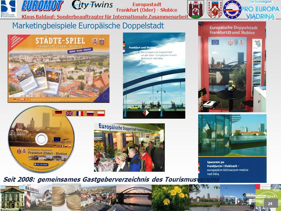 Marketingbeispiele Europäische Doppelstadt