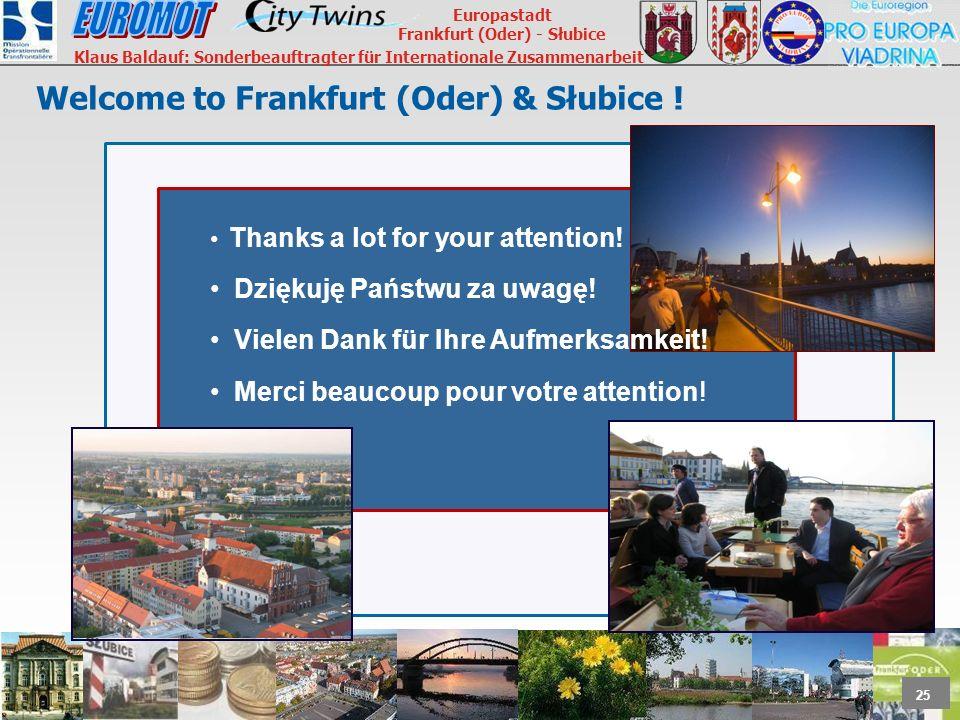 Welcome to Frankfurt (Oder) & Słubice !