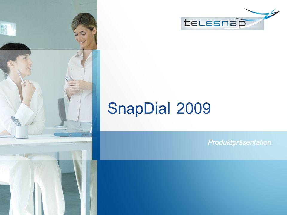 SnapDial 2009 Produktpräsentation