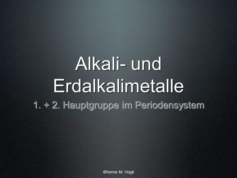 Alkali Und Erdalkalimetalle