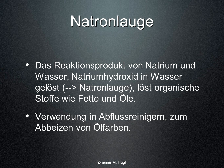 Natronlauge