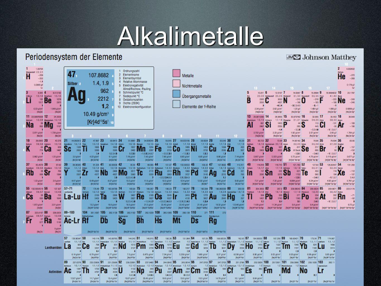 Alkalimetalle ©hemie M. Hügli