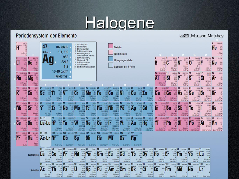 Halogene ©hemie M. Hügli