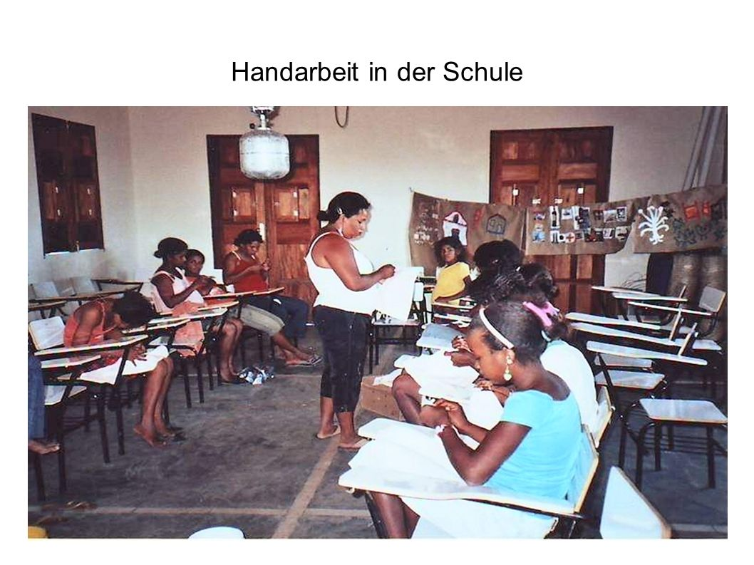 Handarbeit in der Schule