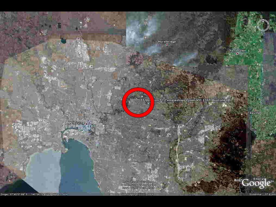 Im Großstadt Melbourne im Vorort von Lower Templestowe ..