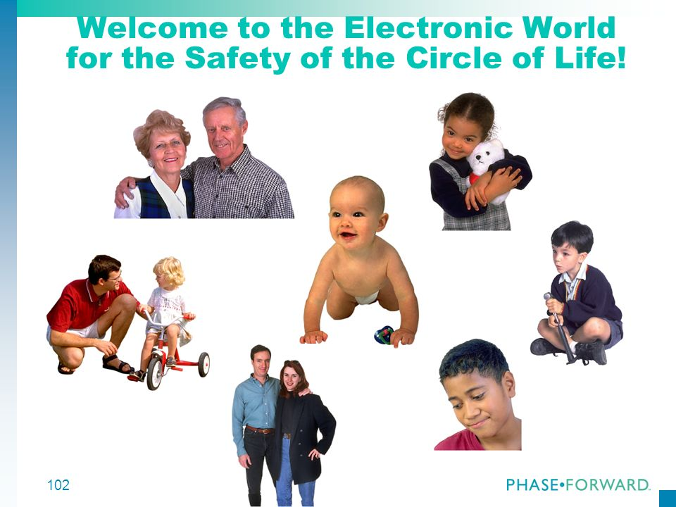 Welcome to the Electronic World for the Safety of the Circle of Life!