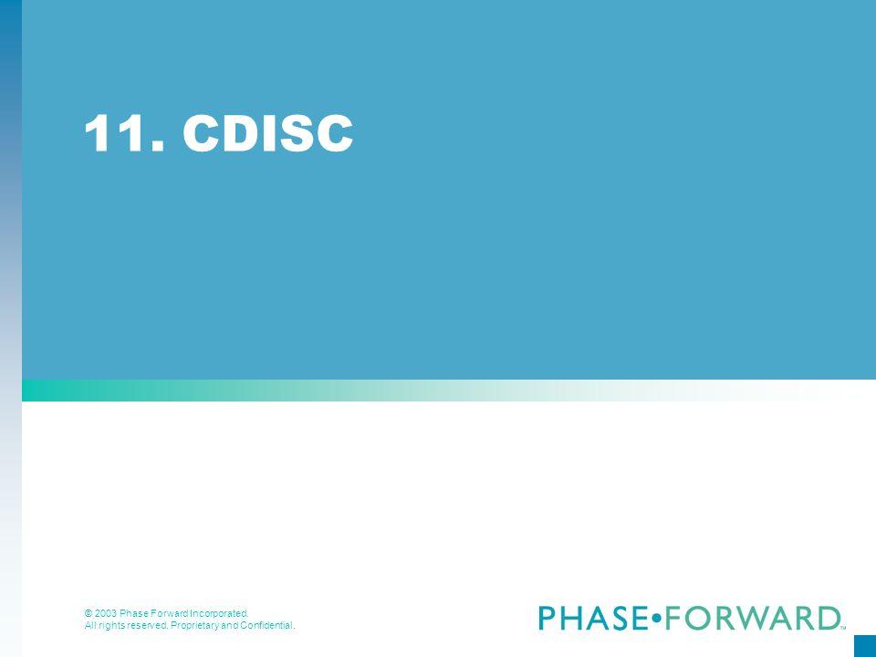11. CDISC
