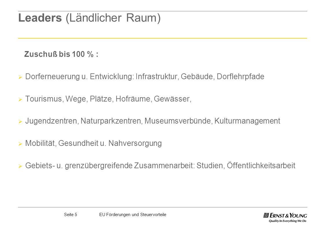 Leaders (Ländlicher Raum)