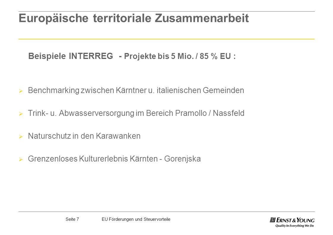 Europäische territoriale Zusammenarbeit