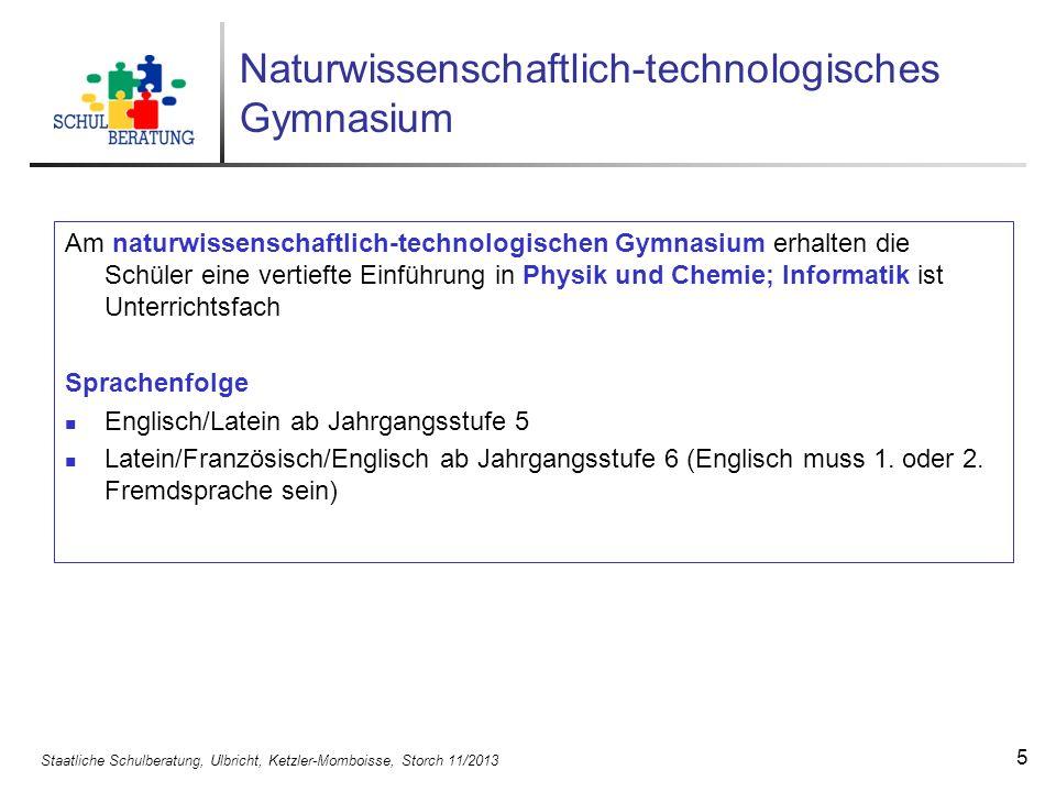 Naturwissenschaftlich-technologisches Gymnasium