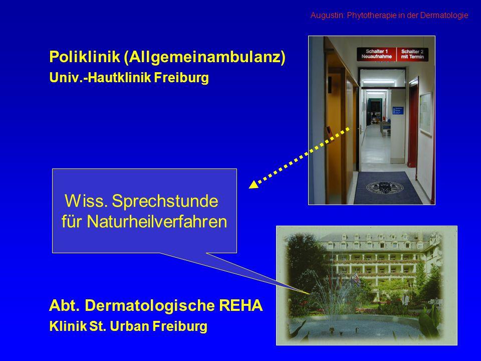Poliklinik (Allgemeinambulanz) Univ.-Hautklinik Freiburg