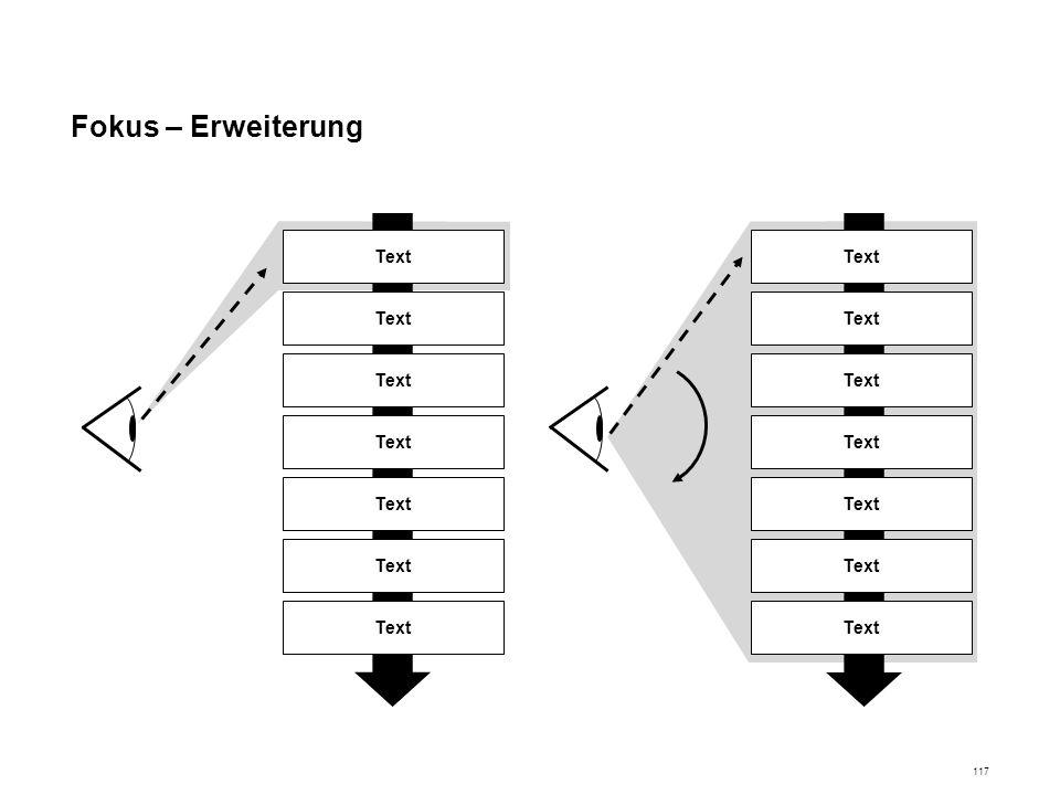 Fokus – Erweiterung Text t Text