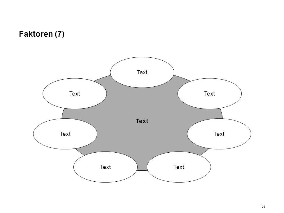 Faktoren (7) Text