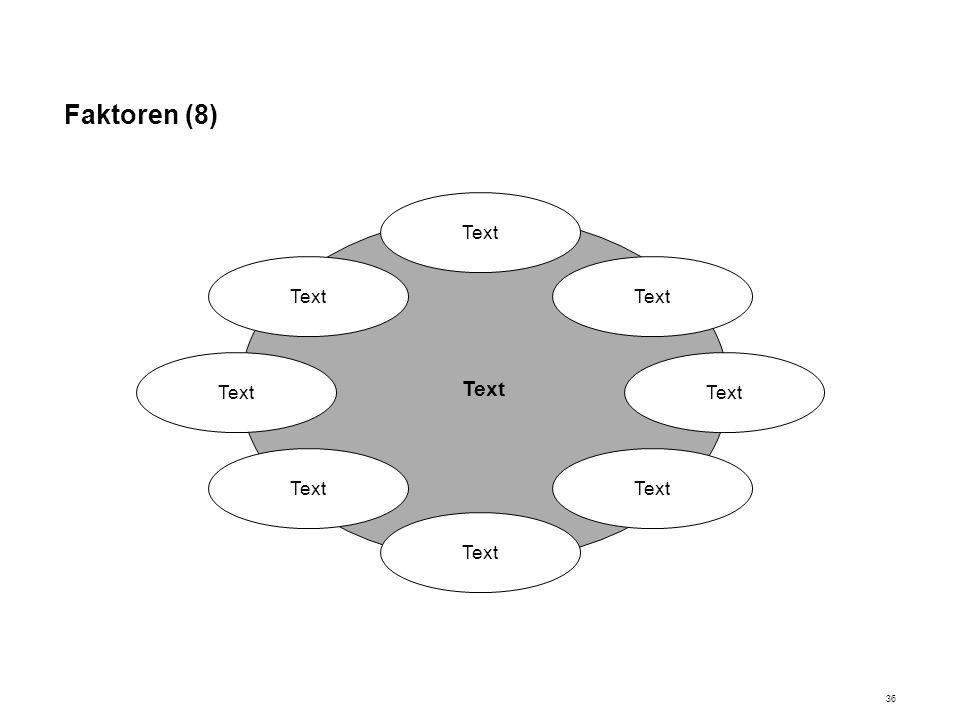 Faktoren (8) Text