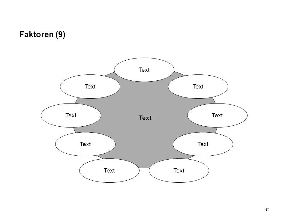 Faktoren (9) Text