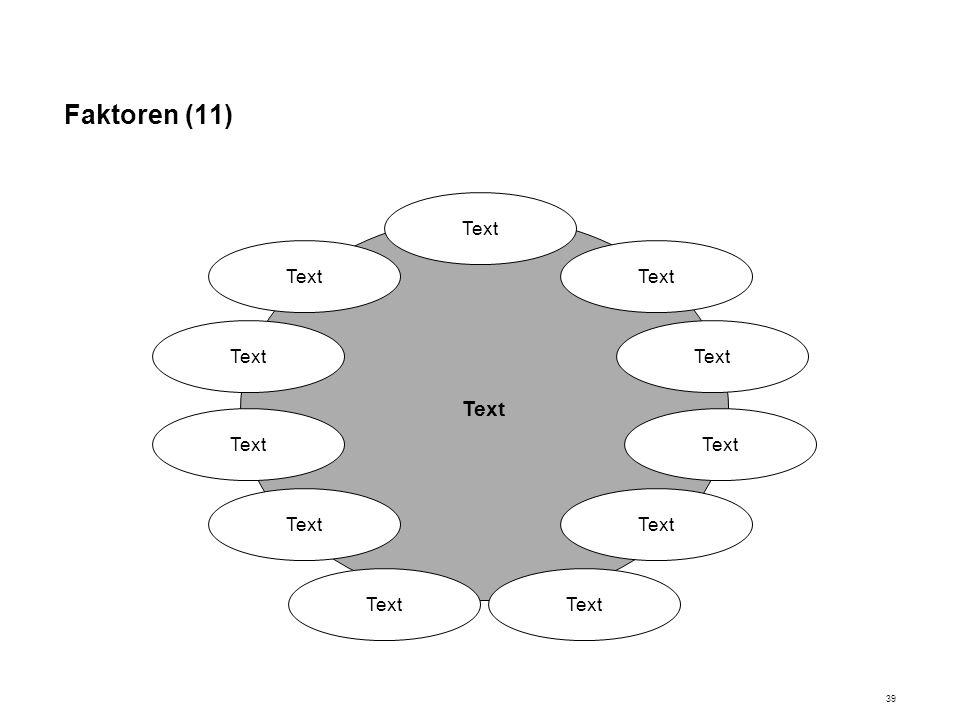 Faktoren (11) Text
