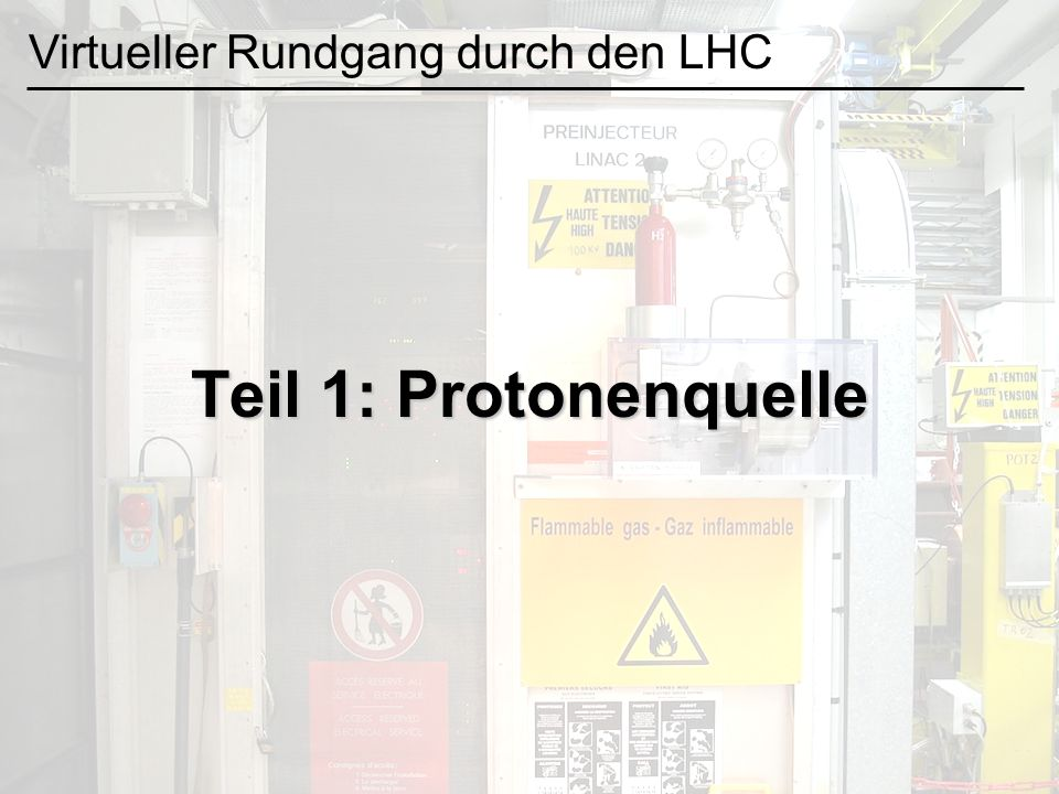 Virtueller Rundgang durch den LHC