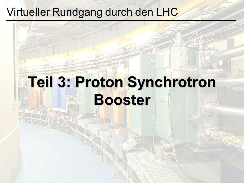 Teil 3: Proton Synchrotron Booster
