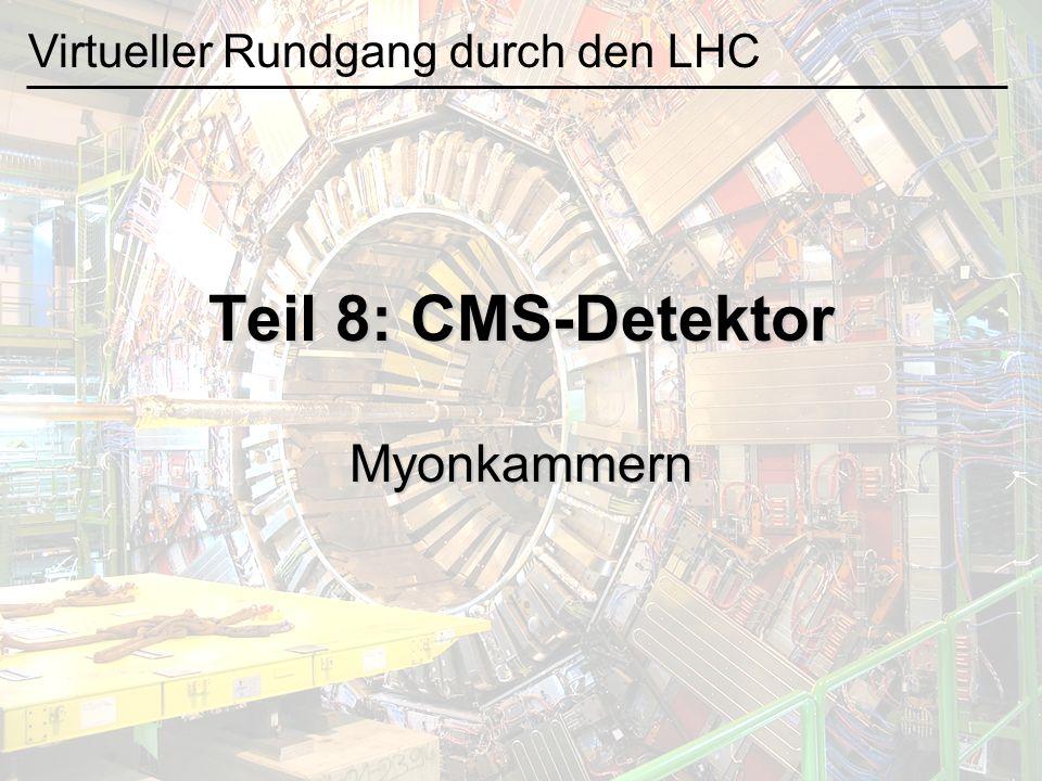 Teil 8: CMS-Detektor Myonkammern