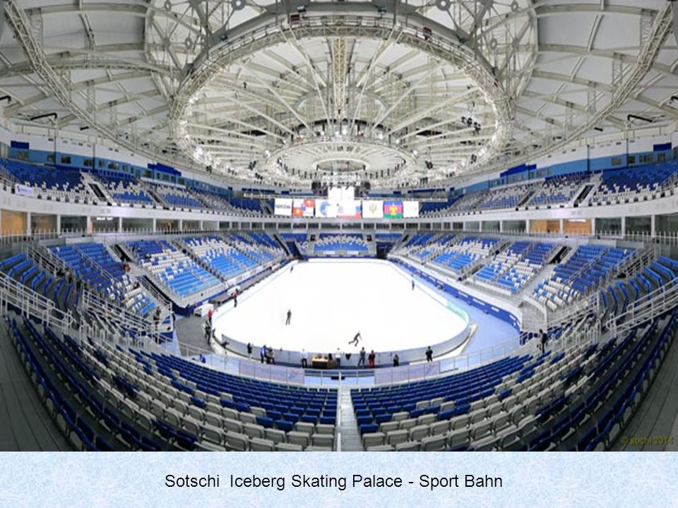 Sotschi Iceberg Skating Palace - Sport Bahn