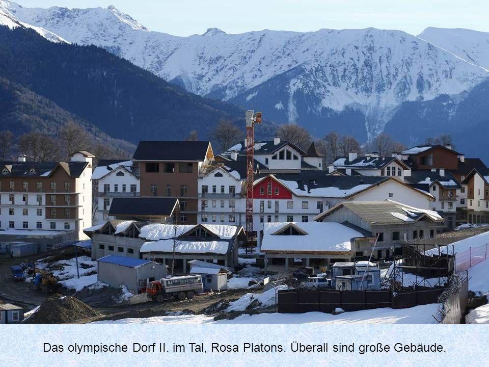 Das olympische Dorf II. im Tal, Rosa Platons