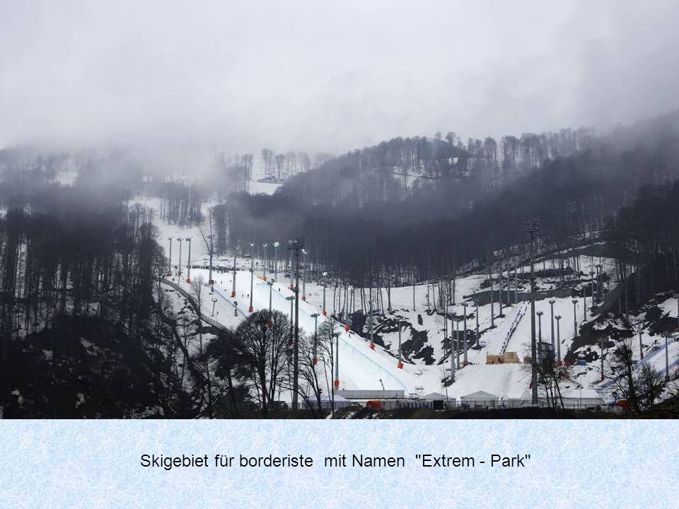 Skigebiet für borderiste mit Namen Extrem - Park